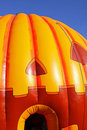 Hallowe'en pumpkin inflatable Royalty Free Stock Photo