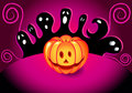 Halloween assustador Foto de Stock Royalty Free
