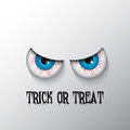 Halloween background with evil eyes Royalty Free Stock Photo