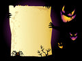 Halloween background sinister with space for text Stock Photography