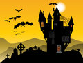 Halloween background theme abstract color Stock Photography