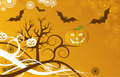 Halloween background, vector Stock Photography