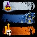 Halloween Banner Royalty Free Stock Image