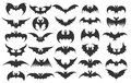 Halloween bat icons