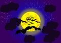 Halloween Bats Royalty Free Stock Photo