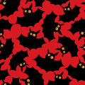 Halloween bats pattern Stock Photo