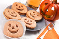 Halloween biscuits Royalty Free Stock Photo