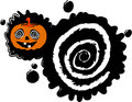 Halloween blot banner Stock Photos