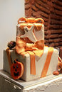 Halloween cake Stock Photography