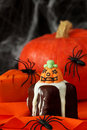 Halloween cakes Stock Photography