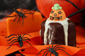 Halloween cakes Royalty Free Stock Images
