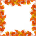 Halloween - Candy Corn Border Stock Photography