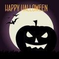 Halloween card Stock Photography