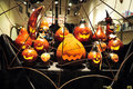 Halloween carved pumpkins new york oct jack o lanterns on oct it s a yearly celebration observed in a number of countries on Stock Photography