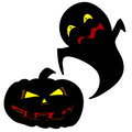 Halloween character cartoon. Royalty Free Stock Photography