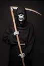 Halloween character: Death Royalty Free Stock Photo