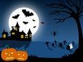 Halloween City Scene [1]