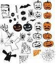 Halloween collection Royalty Free Stock Image