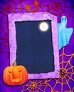 Halloween color background Stock Photography