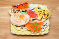 Halloween Cookies Royalty Free Stock Photography
