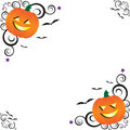 Halloween Corners Royalty Free Stock Photo