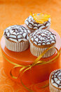 Halloween cupcake Royalty Free Stock Photography