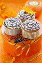 Halloween cupcake Royalty Free Stock Image