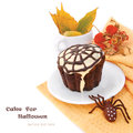 Halloween cupcake Royalty Free Stock Photos