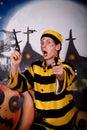Halloween Dalton character Stock Photo