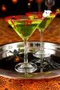 Halloween drink Royalty Free Stock Photo