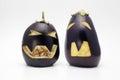 Halloween Eggplant Royalty Free Stock Photo
