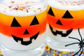 Halloween Food Background Cand...