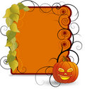 Halloween frame Royalty Free Stock Image