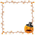 Halloween Frame 2 Royalty Free Stock Photo