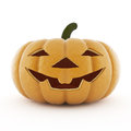 Halloween front view on white background Royalty Free Stock Photos