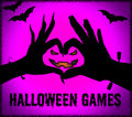 Halloween Games Means Trick Or Treat And Entertaining
