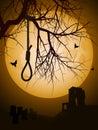 Halloween hangmans noose Royalty Free Stock Photo