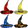 Halloween hats Royalty Free Stock Images
