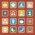 Halloween icon set illustrator eps Royalty Free Stock Image
