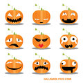 Halloween Icons Royalty Free Stock Photos