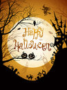 Halloween illustration Royalty Free Stock Images