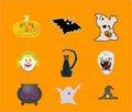 Halloween Illustrations Stock Photo