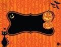Halloween Invitation Royalty Free Stock Image