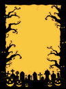 Halloween Invitation Royalty Free Stock Images