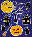 Halloween items Royalty Free Stock Photos