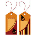 Halloween label Royalty Free Stock Images