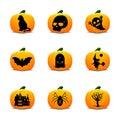 Halloween Lantern Icons