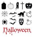 Halloween, life beyond, afterlife and Dia de muertos Royalty Free Stock Photo