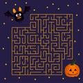 Help Cute Bat To Find Right Hi...