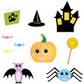 Halloween Objects Stock Images